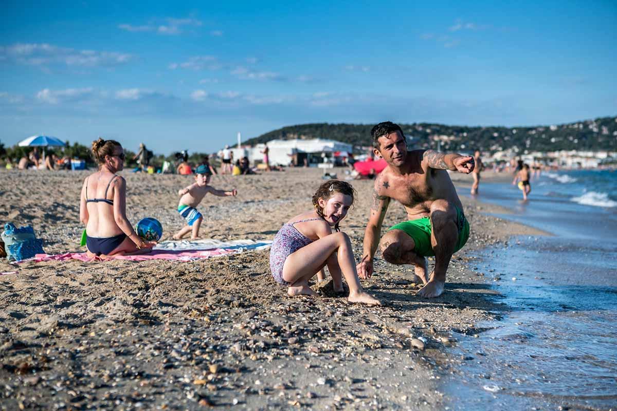 La plage en famille - © Olivier Octobre