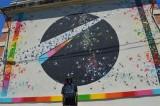 musée ciel ouvert street art urbain fresque Hérault Languedoc Occitanie  Maco mademoiselle maurice art culture