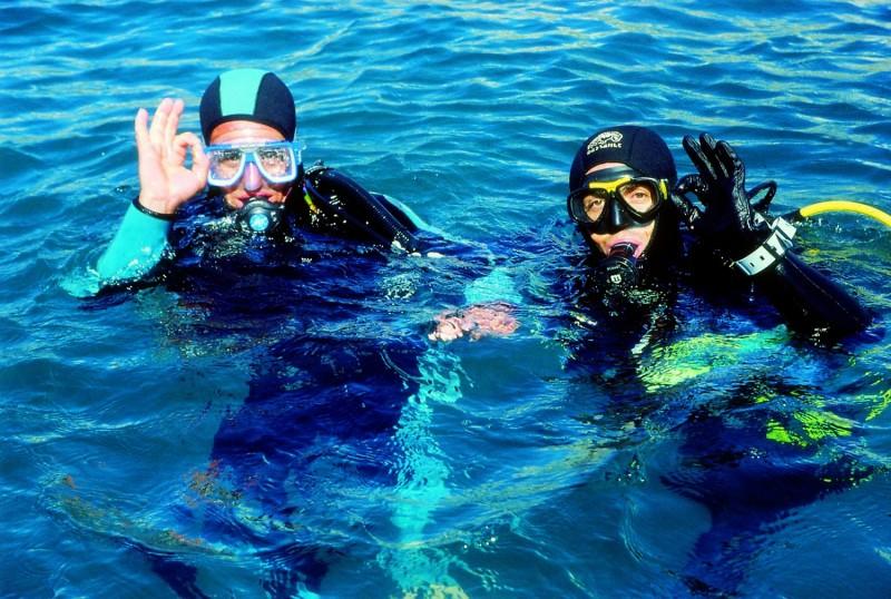 Iniciación al buceo en dúo