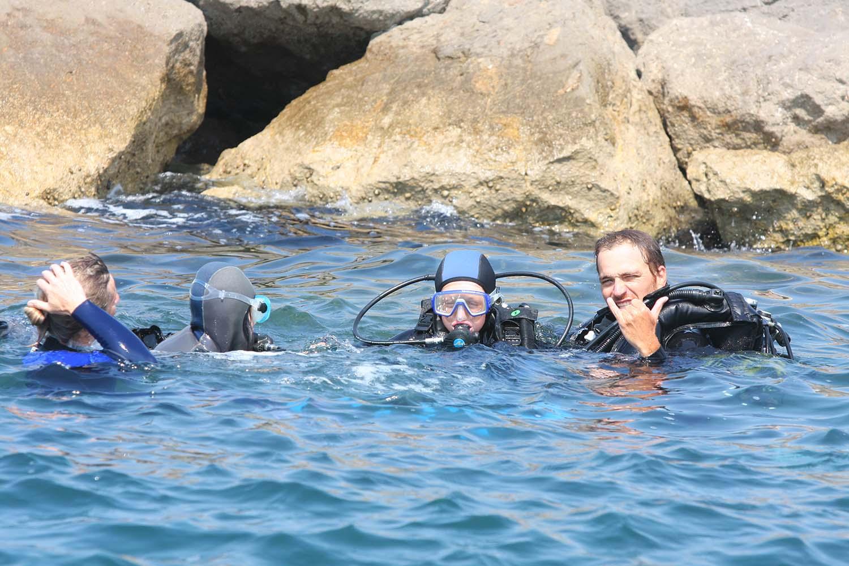 Plongée en mer à Frontignan