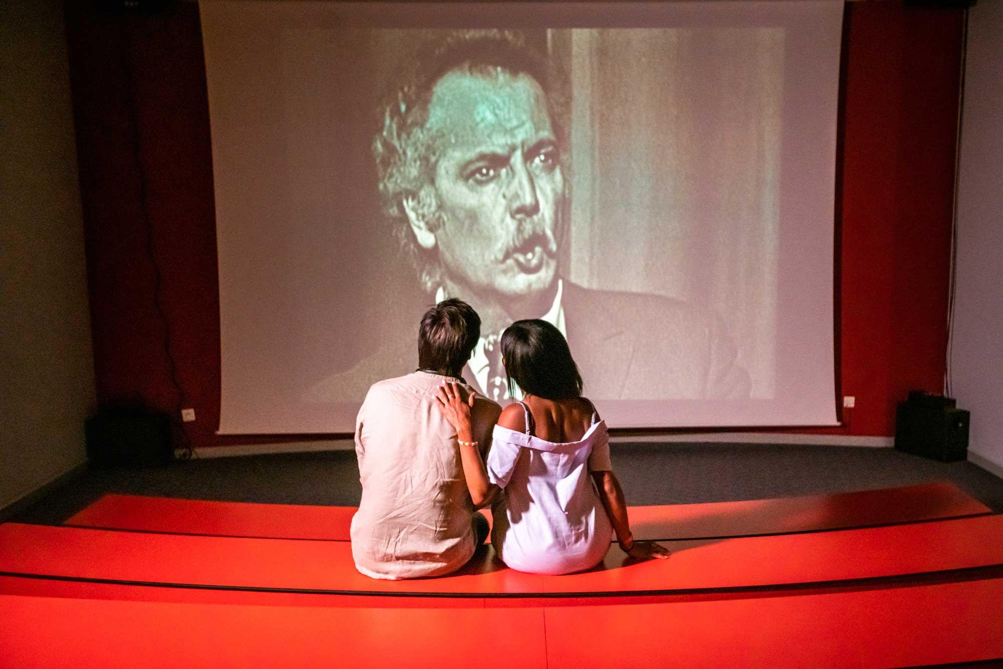 Projection à l'espace Georges Brassens - © Olivier Octobre