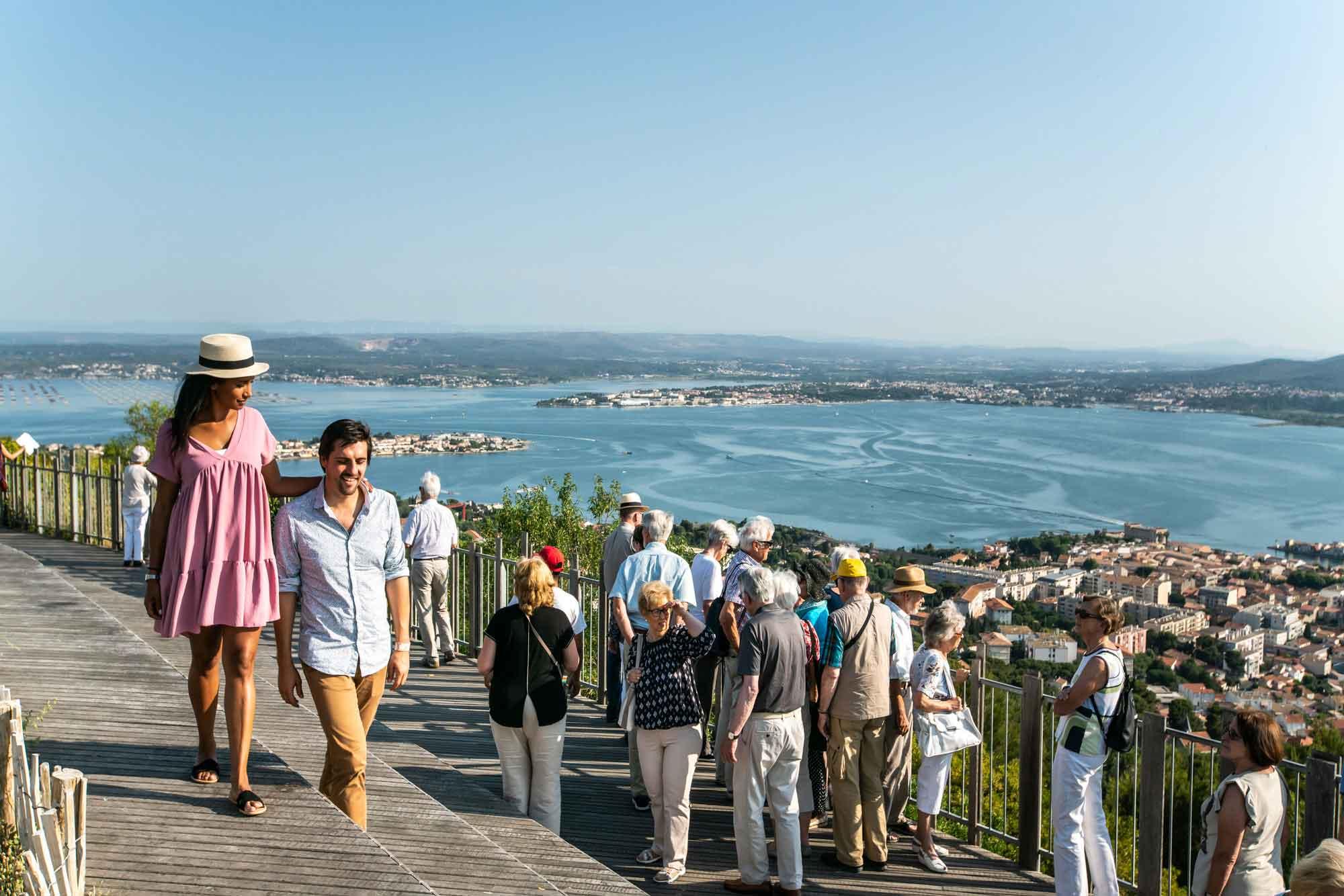 Vue panoramique depuis le mont Saint Clair